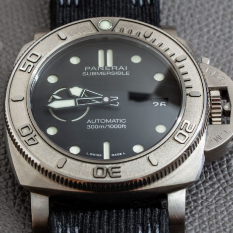 Reviewing of High Quatily Replica Panerai Submersible Mike Horn Edition PAM00984 Watch