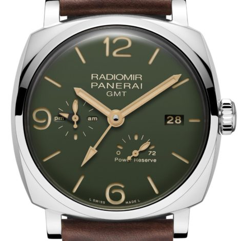Perfect Replica New Panerai Radiomir Watches With  Green Dial
