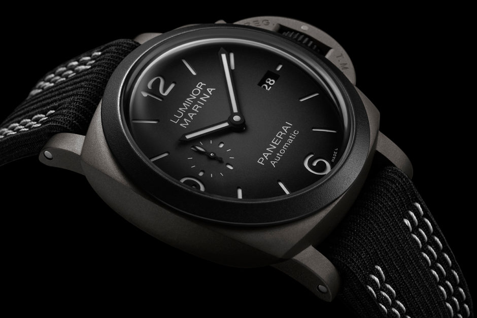 Perfect Panerai Updated New Luminor Marina 44MM Guillaume Néry Edition Replica Watch