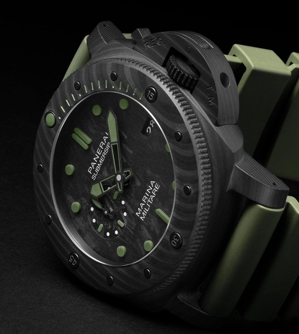 Top Panerai Submersible Marina Militare Carbotech PAM 979 & PAM 961 Replica Watches