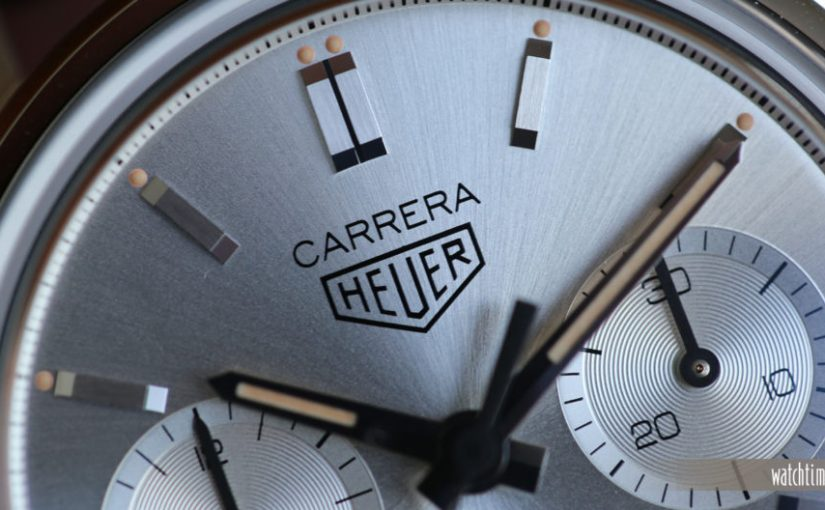 Hands On:Perfect TAG Heuer Carrera 160 Years Silver Limited Edition Replica Watches